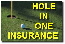 Hole-In-One Insurance